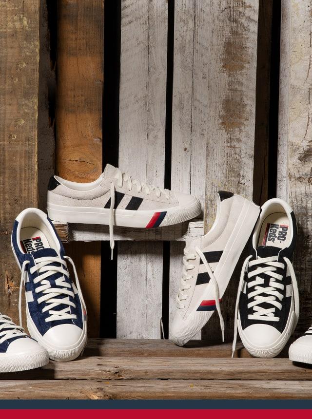 Pro-Keds Royal Plus sneakers.