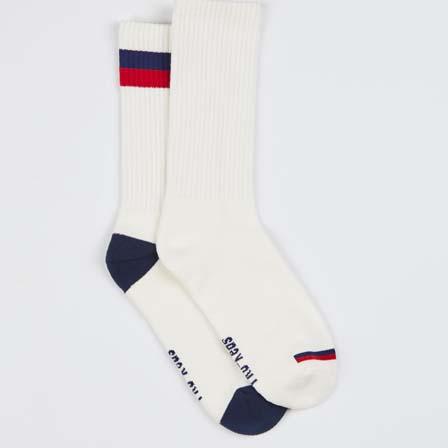 Two styles of Pro-Keds crew socks.
