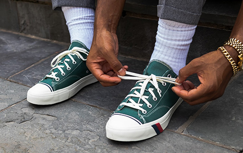 Man wearing Prokeds shoes