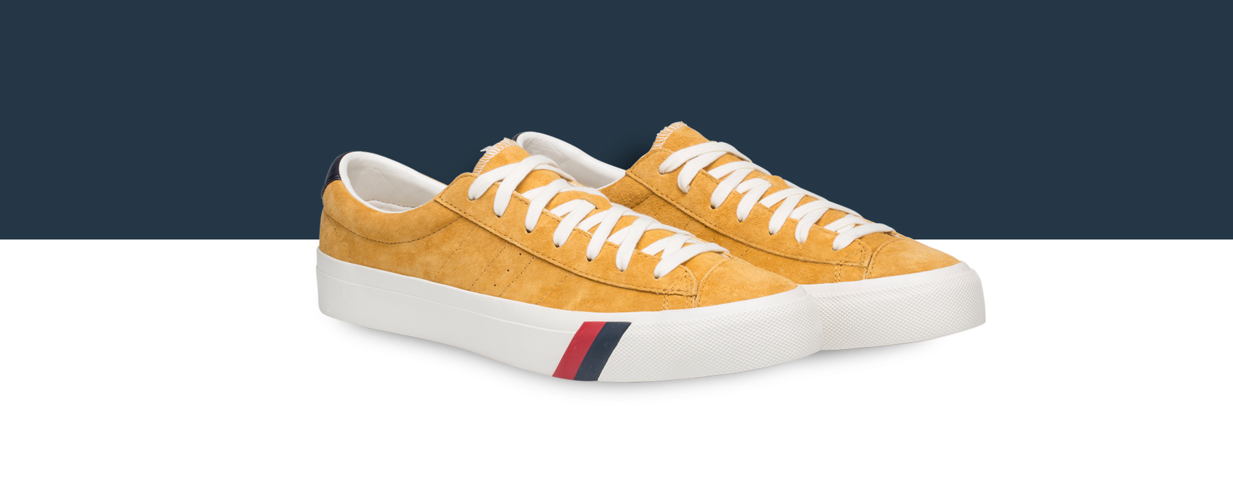 Pair of Pro-Keds Royal Lo's in a fall inspired color.