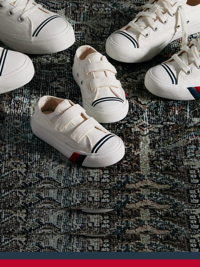 Kids Pro-Keds shoes.