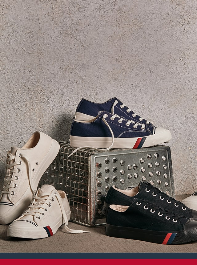 Pro-Keds Royal Lo sneakers.